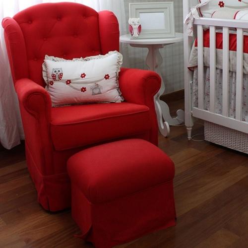 Quarto de bebê em vermelho: 25 ideias imperdíveis!