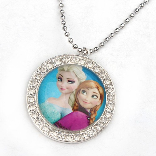 http://pt.aliexpress.com/item/10pcs-Kids-Frozen-Necklace-Elsa-and-Anna-Necklace-Rhinestone-Pendant-Stainless-Ball-Chain-Necklace-Frozen-Jewelry/2034984171.html