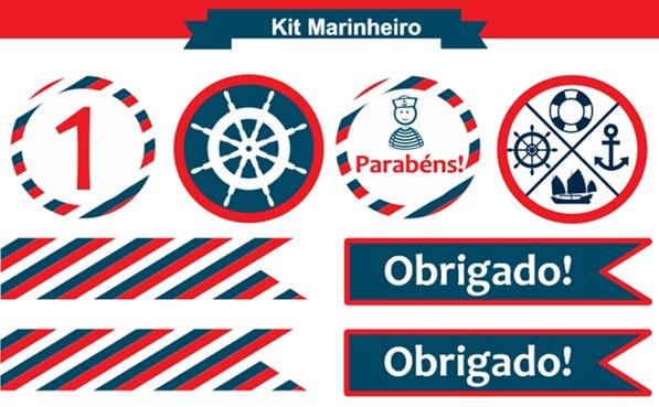 Kit festa marinheiro para imprimir (gratuito)