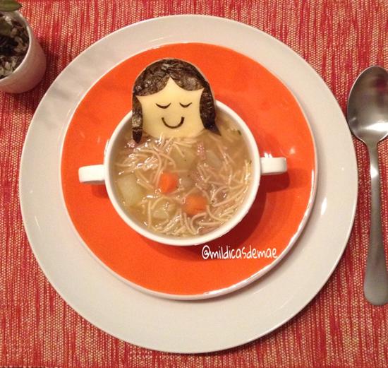 Menininha na sopa: aprenda a fazer