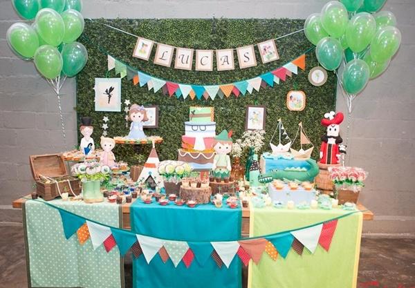 Matrimonio Tema Peter Pan : Festa peter pan em feltro muito fofa mil dicas de mãe