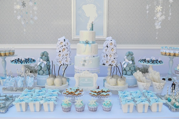 Festa Frozen: a decoração do momento!