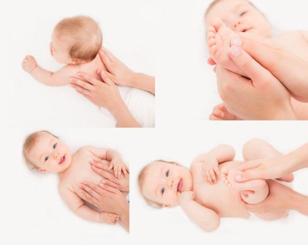 Bebês relaxados e sono tranquilo com a Shantala