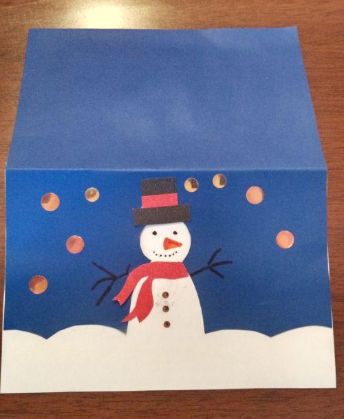 Como fazer um cartão de Natal (fácil, meigo e rápido!)