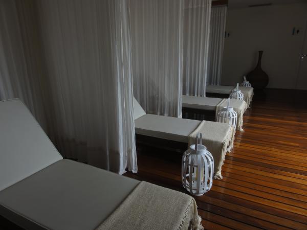 Sala de relaxamento no Spasíssimo