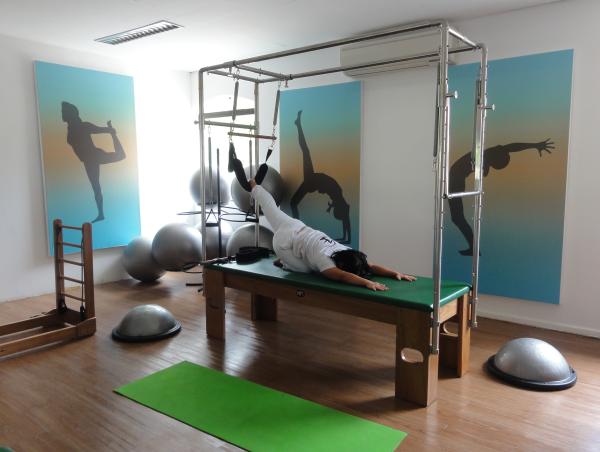 Pilates: uma das opções do Spasíssimo