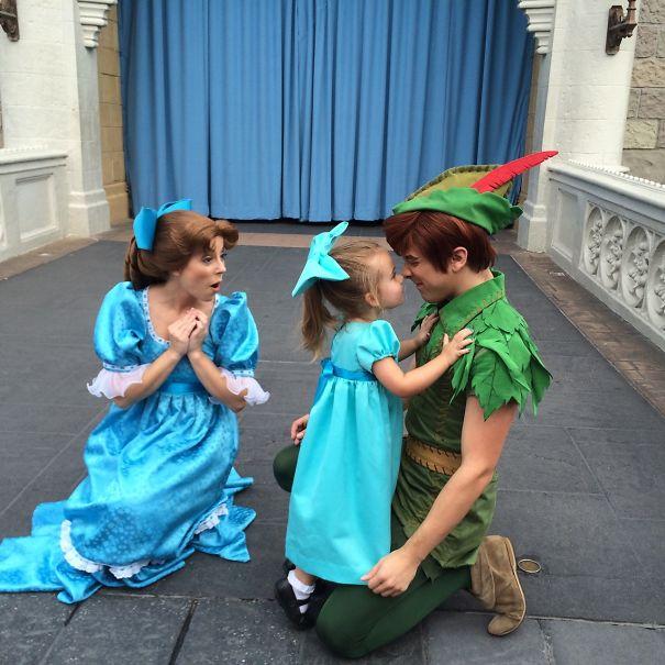 Como Wendy, de Peter Pan