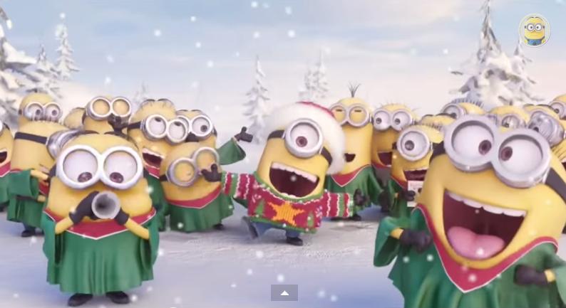 Um vídeo de Natal mais do que fofo (com os Minions!)