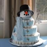 15 bolos de fralda na cor azul, para você se inspirar!