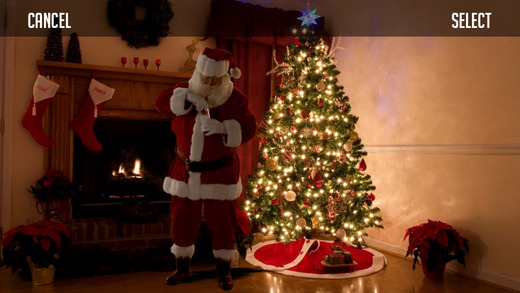 Aplicativo para provar que o Papai Noel passou em sua casa!