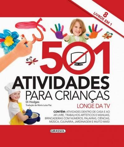 Dica de livro: 501 atividades para crianças (longe da TV)