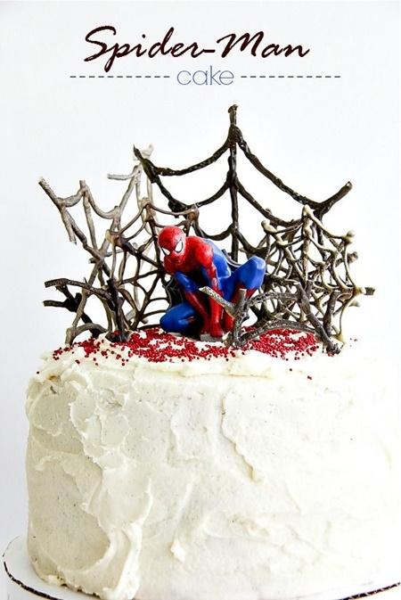 Bolo do Homem-Aranha: os 20 modelos mais bonitos!