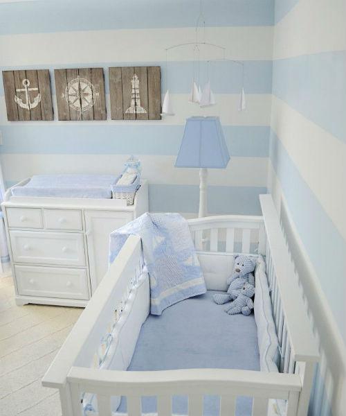 Ideias Decoracao Para Quarto De Bebe ~ Quarto de beb? em azul 20 ideias de decora??o para amar!  Mil