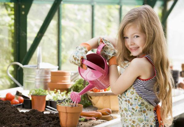 Como fazer uma horta em casa com as crianças