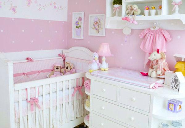 30 quartos de bebê para meninas Mil dicas de mãe