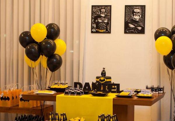 decoracao festa batman:Festa do Batman: 35 ideias incríveis! : Mil dicas de mãe