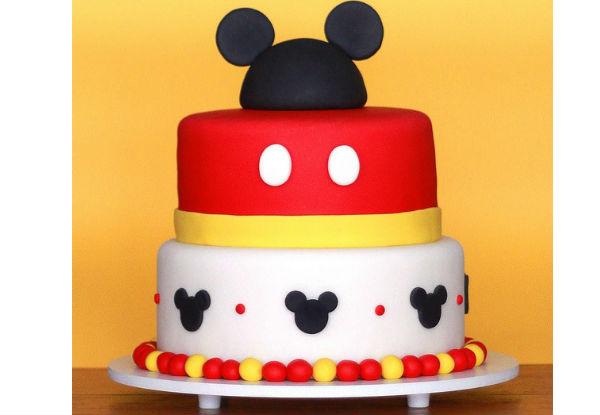 Bolo Do Mickey 25 Modelos Para Você Se Apaixonar ᐅ Mil