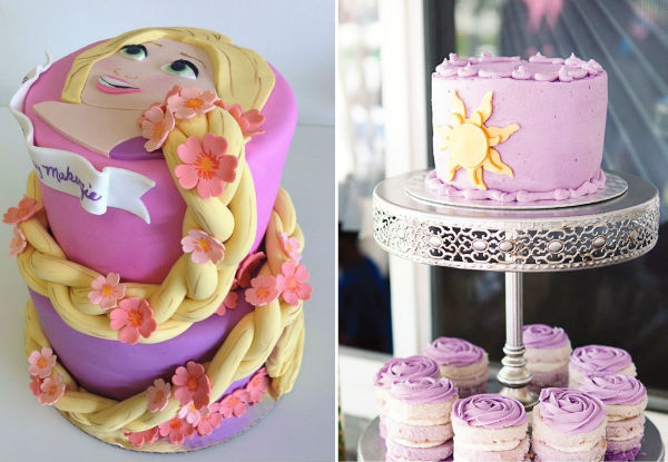 40 ideias para fazer uma festa Rapunzel