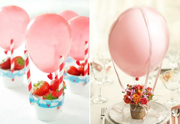 Ideias criativas e inteligentes para decorar a festa do seu filho com bexigas!