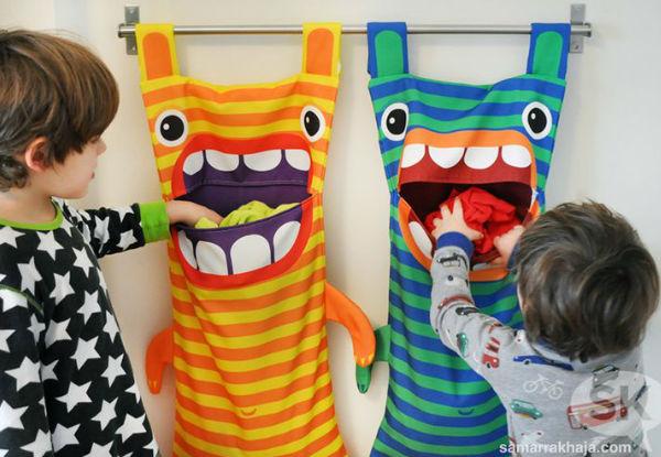 Ideias bacanas para organizar o banheiro das crianças!