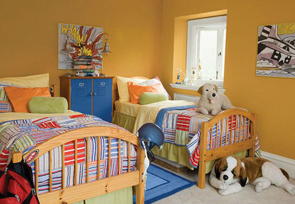 20 quartos lindos de meninos – e que não são azuis!