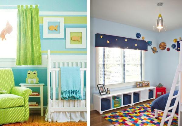 20 cortinas para o quarto do bebê