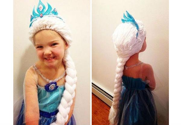 Garotinhas com câncer ganham cabelos de princesa