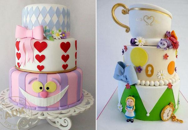 40 lindas ideias para fazer uma festa Alice no País das Maravilhas!