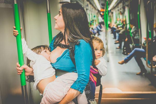 Fotos de amamentação prolongada mostram a beleza de nutrir um filho