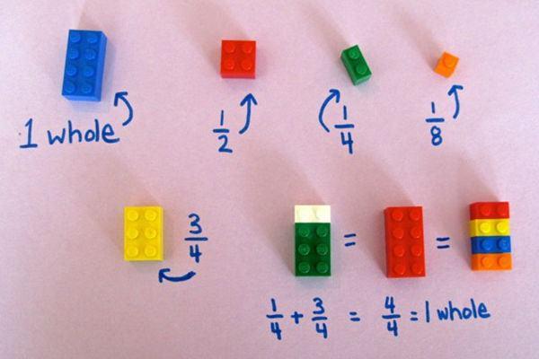 Como ensinar matemática para seu filho usando peças de LEGO!