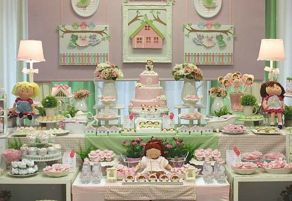 35 ideias para fazer uma festa de bonecas!