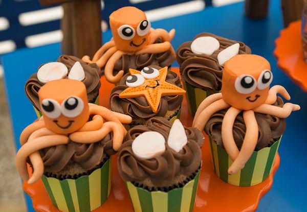 Mais de 40 ideias para fazer uma festa fundo do mar!