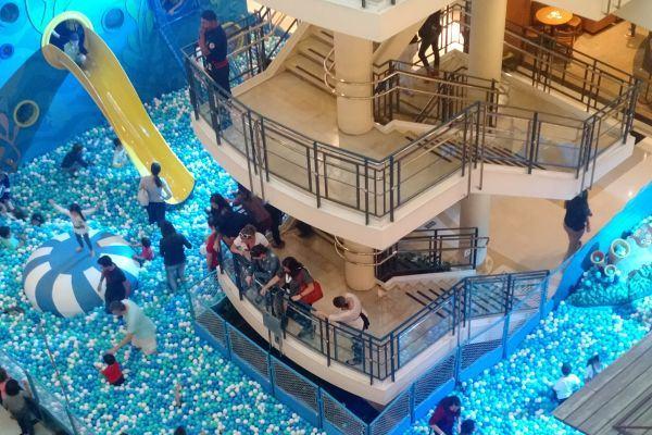 Mar de bolinhas da Dory: nós fomos e contamos como é!
