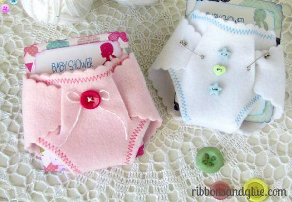 25 enfeites de feltro para chás de bebê!