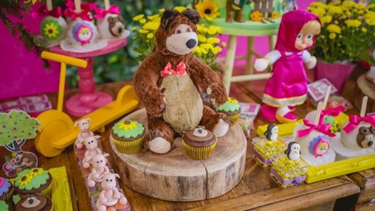 Festa Masha E O Urso Mais De 50 Novas Lindas Ideias Mil Dicas