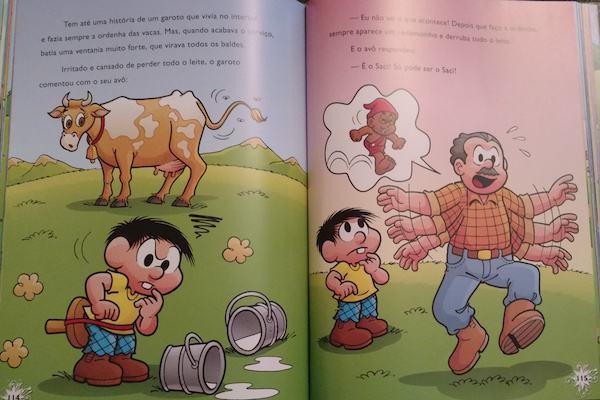 Dica de livro: Lendas Brasileiras (com a Turma da Mônica)!