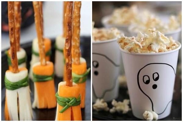 comidinhas de halloween saudáveis