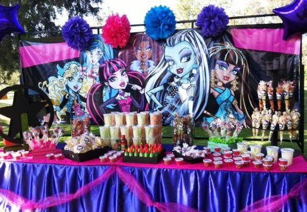 Festa Monster High: ideias que sua filha vai amar!