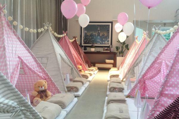 15 dicas perfeitas para uma festa com cabanas!