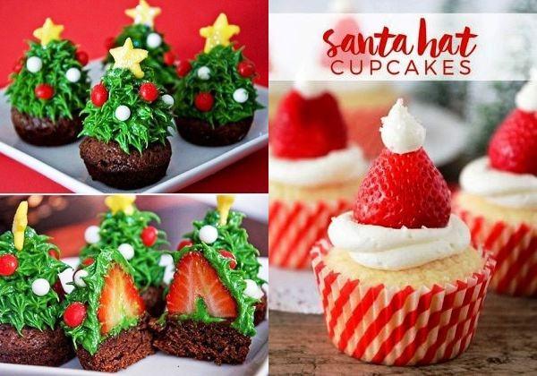 Cupcakes de Natal: para fazer já!