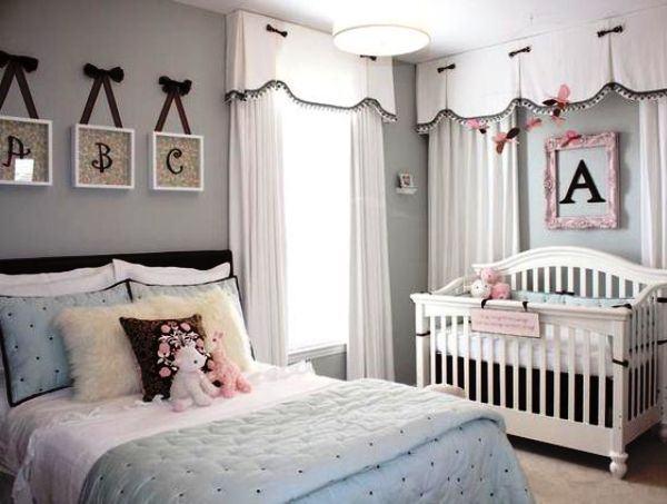 Como usar letras para decorar o quarto do bebê