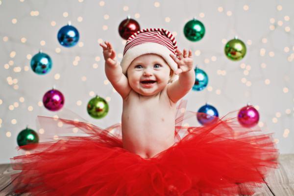 15 imagens (lindas!) para fazer com seu filhote neste Natal