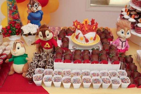 Festa Alvin e os Esquilos: 35 ideias irresistíveis para você produzir a sua!