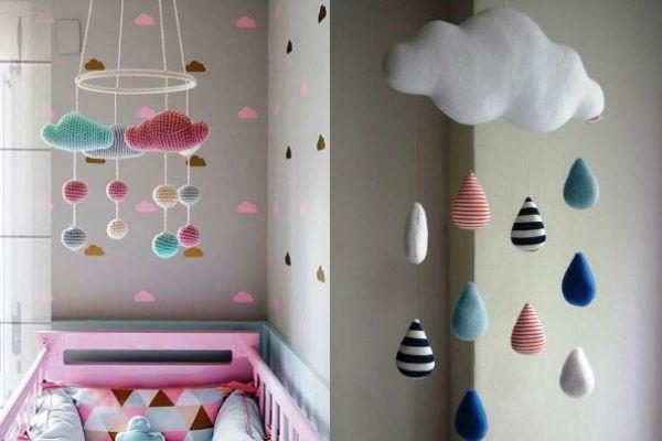 Quarto de bebê decorado com nuvens: mais de 20 ideias para morrer de amor!