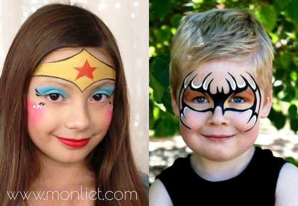 Maquiagens de Carnaval para crianças: mais de 25 ideias para você se inspirar