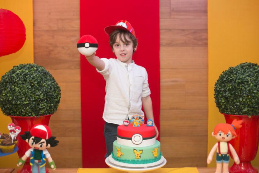 Festa Pokémon do Adam: feita com carinho pela mãe