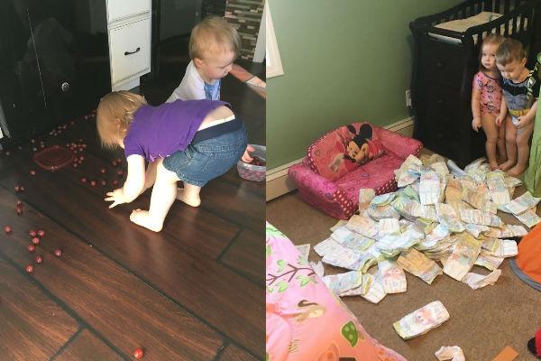13 imagens engraçadas da rotina de uma mãe de três filhos (você vai rir e se identificar!)