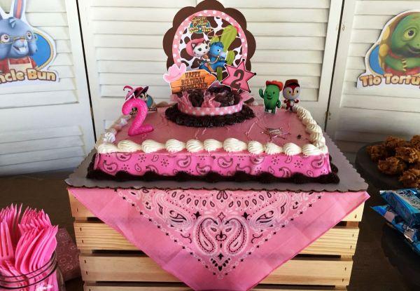 30 ideias para preparar uma linda festa da Xerife Callie no Oeste!