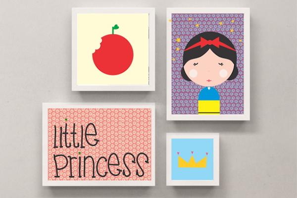 Onde achar quadrinhos fofos para quartos de bebês e crianças (dicas de várias lojas online)