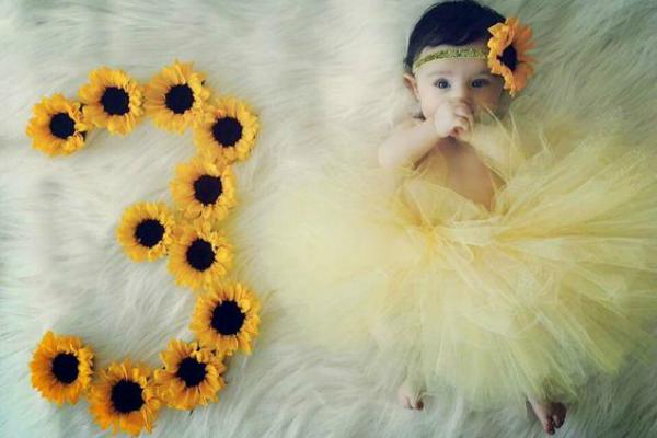 20 ideias para registrar em casa o mesversário do bebê